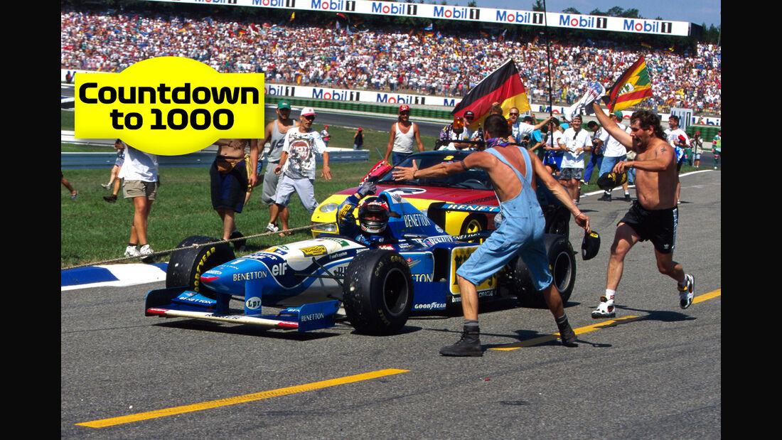 Michael Schumacher - Teaser - Countdown 1000 - F1 2019