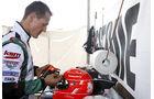 Michael Schumacher im Kart
