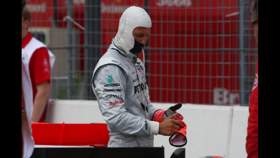 Michael Schumacher in Hockenheim