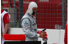 Michael Schumacher in Hockenheim