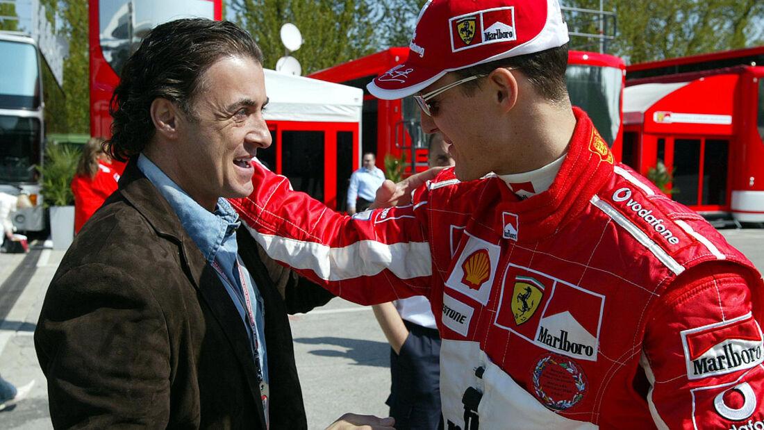 Michael Schumacher und Jean Alesi