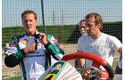 Michael Schumacher und Luca Badoer