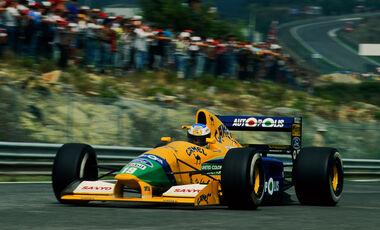 Michael Schumachern Benetton B191