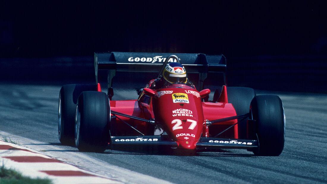 Michele Alboreto - GP Italien 1984