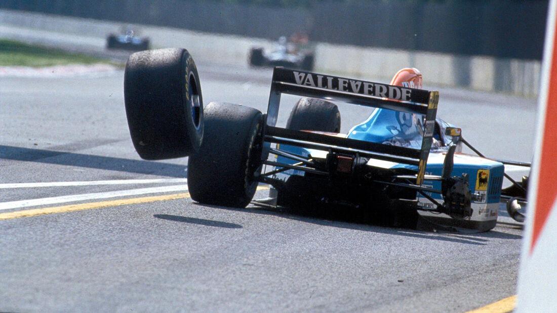 Michele Alboreto - Minardi - GP San Marino 1994