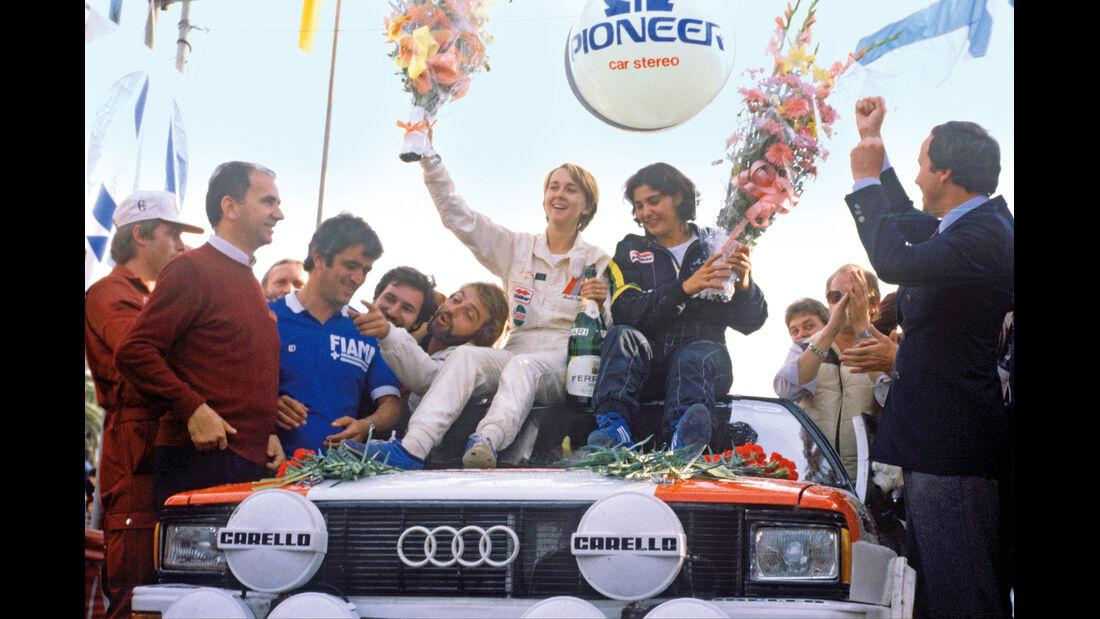 Michele Mouton, Fabrizia Pons, Siegerstrauss