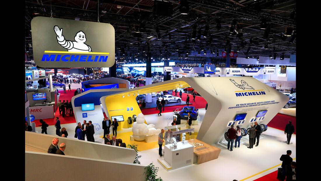 Michelin: Messestand Pariser Autosalon 2018
