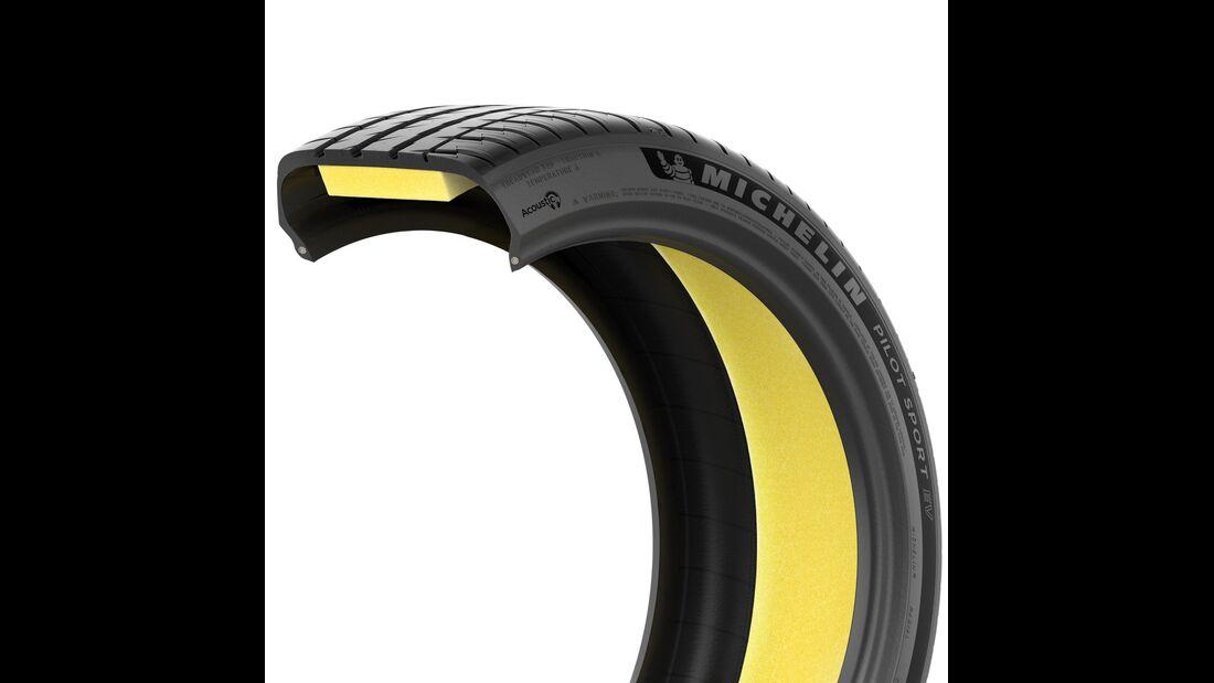 Michelin Pilot Sport EV Akustik-Schaum