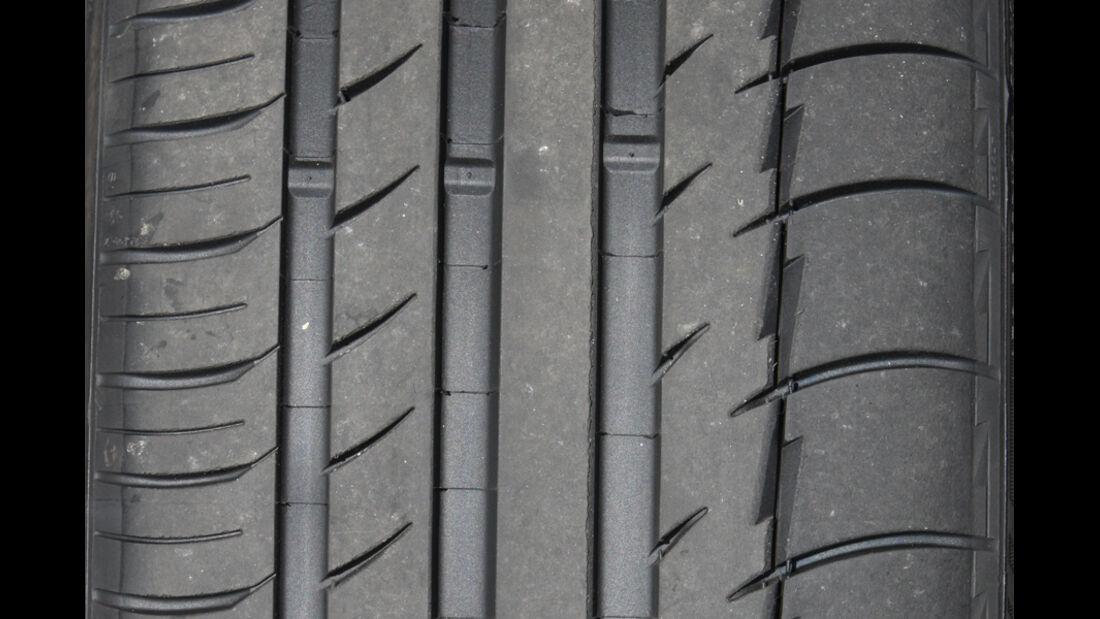 Michelin Pilot Sport Reifenprofil