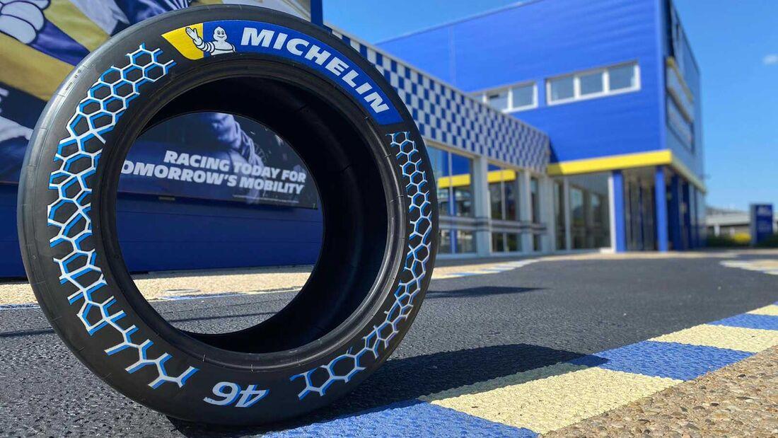 Michelin Rennreifen 46 % nachhaltig