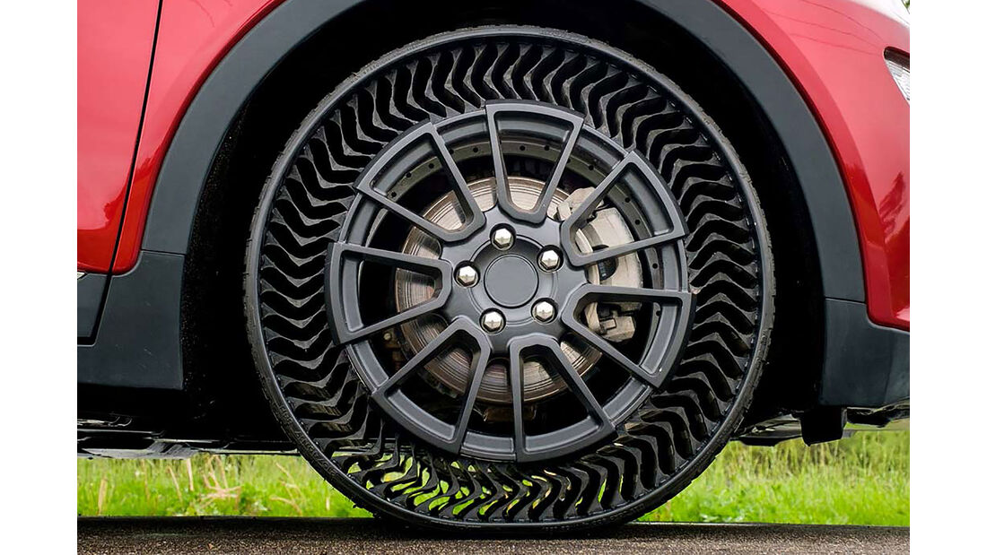 Michelin Uptis luftloser Reifen