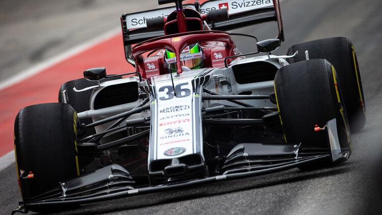 F1-Test Bahrain 2019 (Tag 2): Schumacher testet Alfa Romeo - auto motor und sport