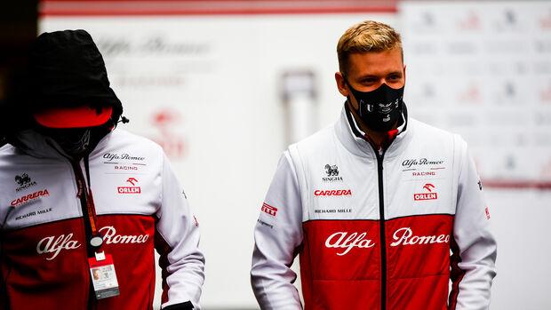 Mick Schumacher - Alfa Romeo - GP Eifel 2020 - Nürburgring