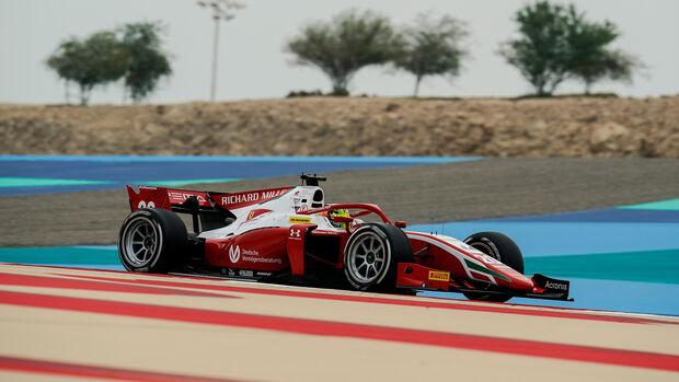 Mick Schumacher - Bahrain - Formel 2 - Prema