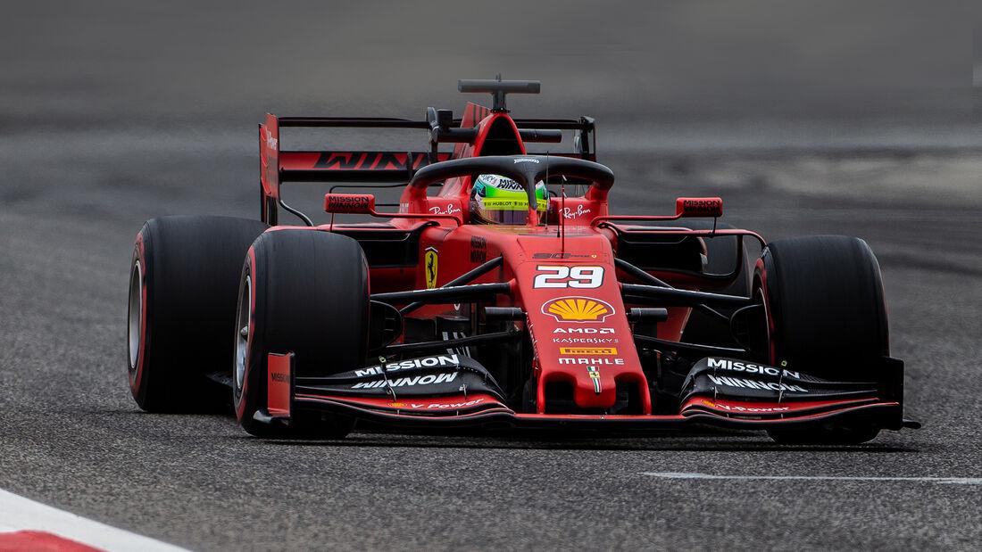 Mick Schumacher - Bahrain Test 2019