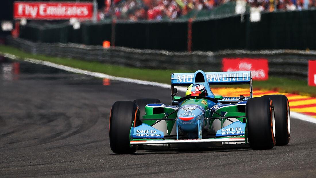 Mick Schumacher - Benetton B194 - Belgien - Spa 2017