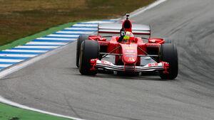 Mick Schumacher - Ferrari F2004 - GP Deutschland 2019 - Hockenheim - Qualifying