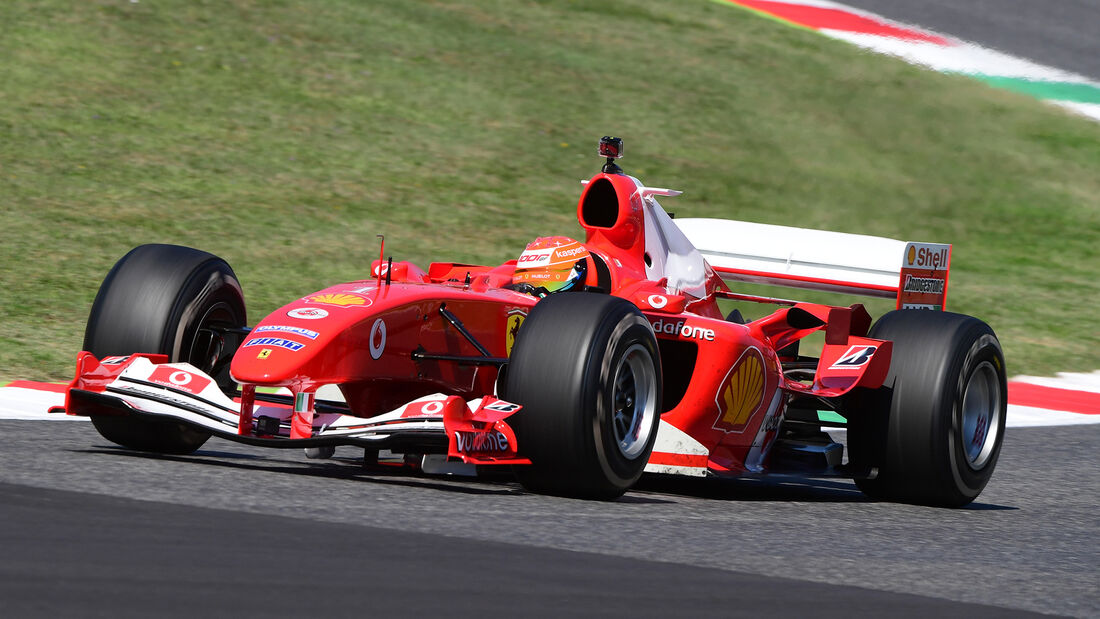 Mick Schumacher - Ferrari F2004 - GP Toskana 2020 - Mugello