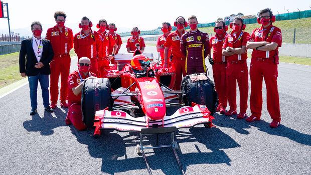 Mick Schumacher - Ferrari - GP Toskana 2020