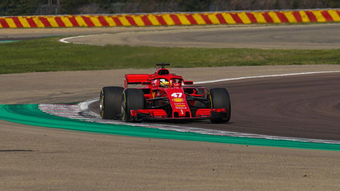 Mick Schumacher - Ferrari SF-71H - Fioriano - Test - 2020