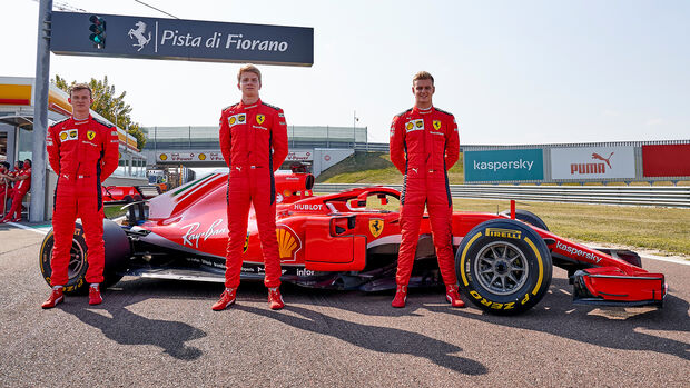 Mick Schumacher - Ferrari SF70-H - Fioriano - Test - 2020