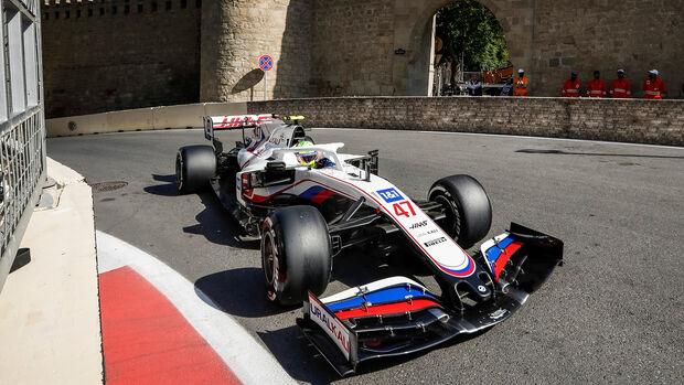 Mick Schumacher - Formel 1 - GP Aserbaidschan 2021