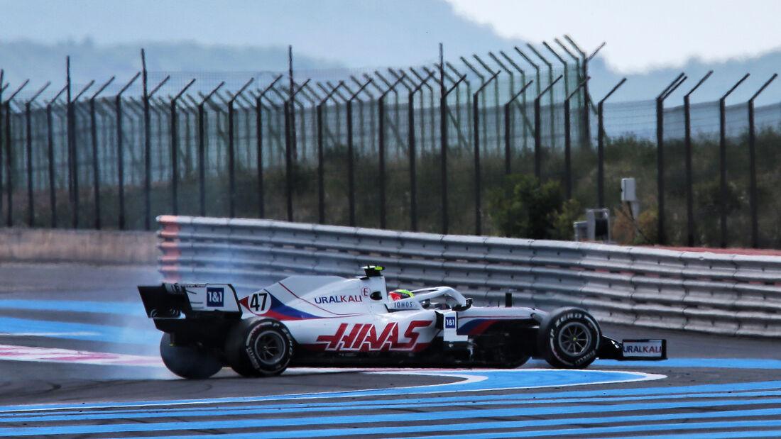 Mick Schumacher - Formel 1 - GP Frankreich 2021