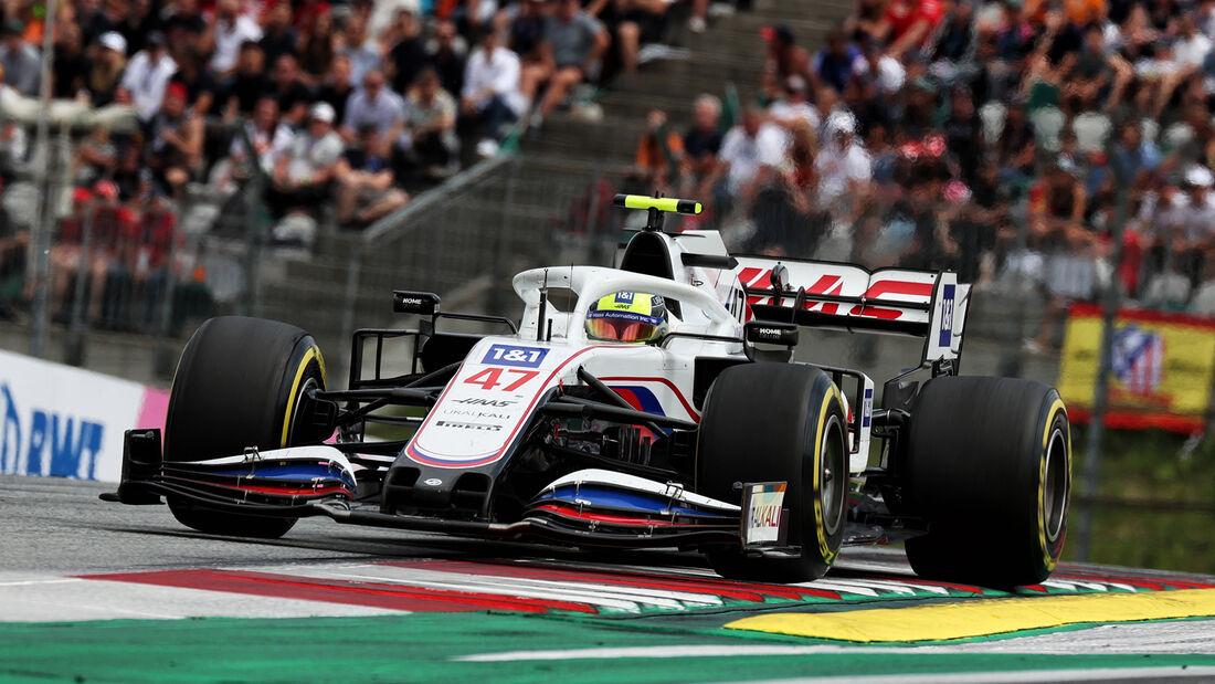 Mick Schumacher - Formel 1 - GP Österreich 2021