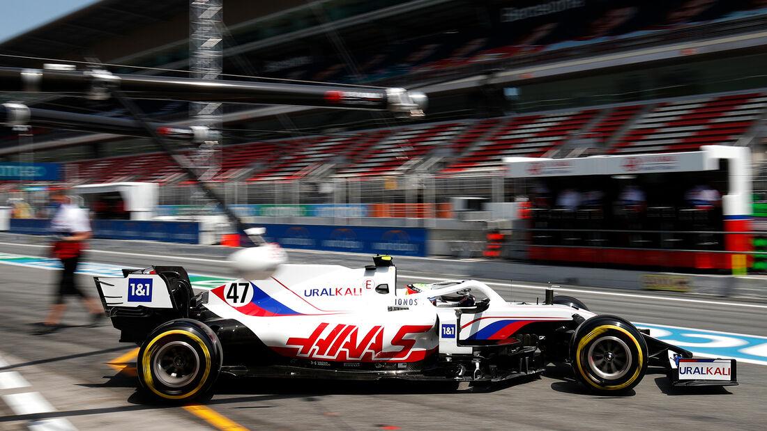 Mick Schumacher - Formel 1 - GP Spanien 2021
