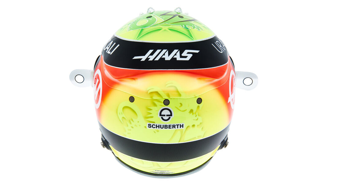 Mick Schumacher - Formel 1 - Helm - 2021