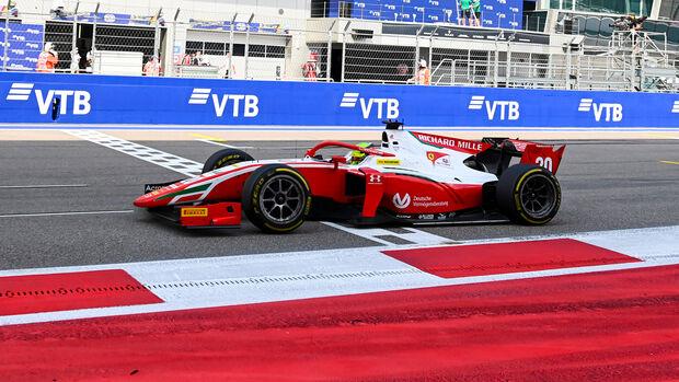 Mick Schumacher - Formel 2 - Sotschi 2020