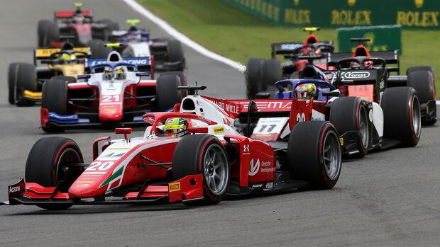 Mick Schumacher - Formel 2 - Spa-Francorchamps 2020
