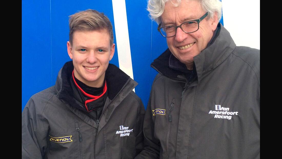 Mick Schumacher & Frits van Amersfoort - 2015