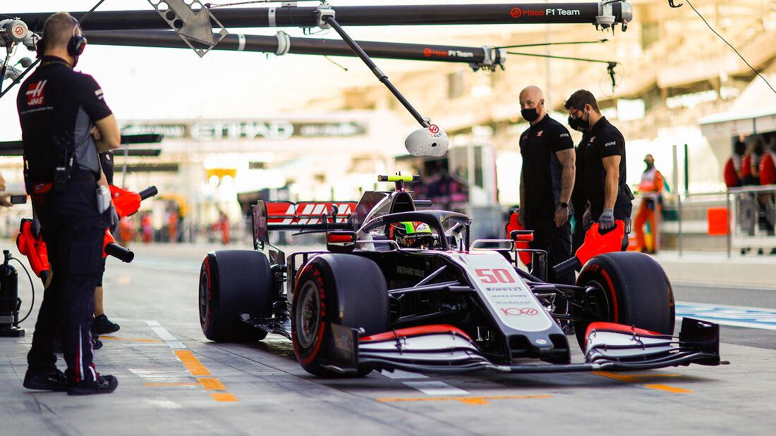 Mick Schumacher - Haas - Formel 1 - GP Abu Dhabi - Freitag - 11.12.2020