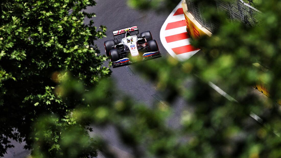 Mick Schumacher - Haas - Formel 1 - GP Aserbaidschan - Baku - Freitag - 4.6.2021