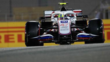 Mick Schumacher - Haas - Formel 1  - GP Bahrain - Samstag - 27.3.2021