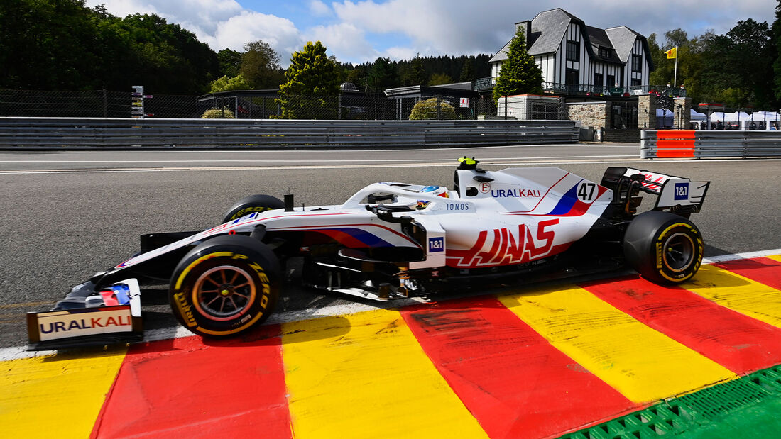 Mick Schumacher - Haas - Formel 1 - GP Belgien - Spa-Francorchamps - 27. August 2021