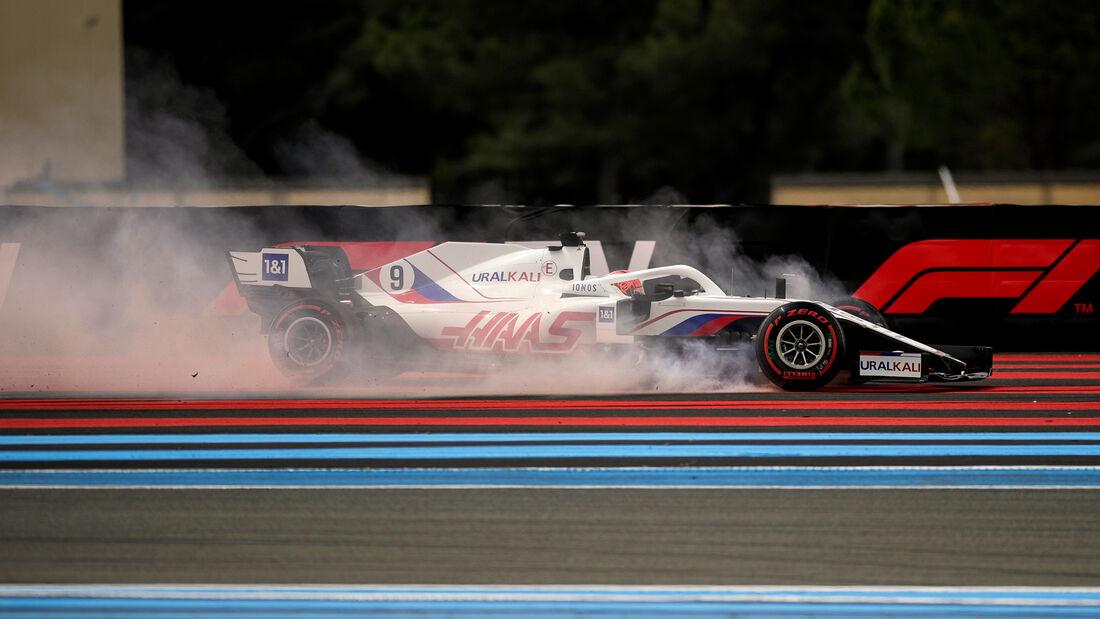 Mick Schumacher - Haas - Formel 1 - GP Frankreich - Le Castellet - 19. Juni 2021