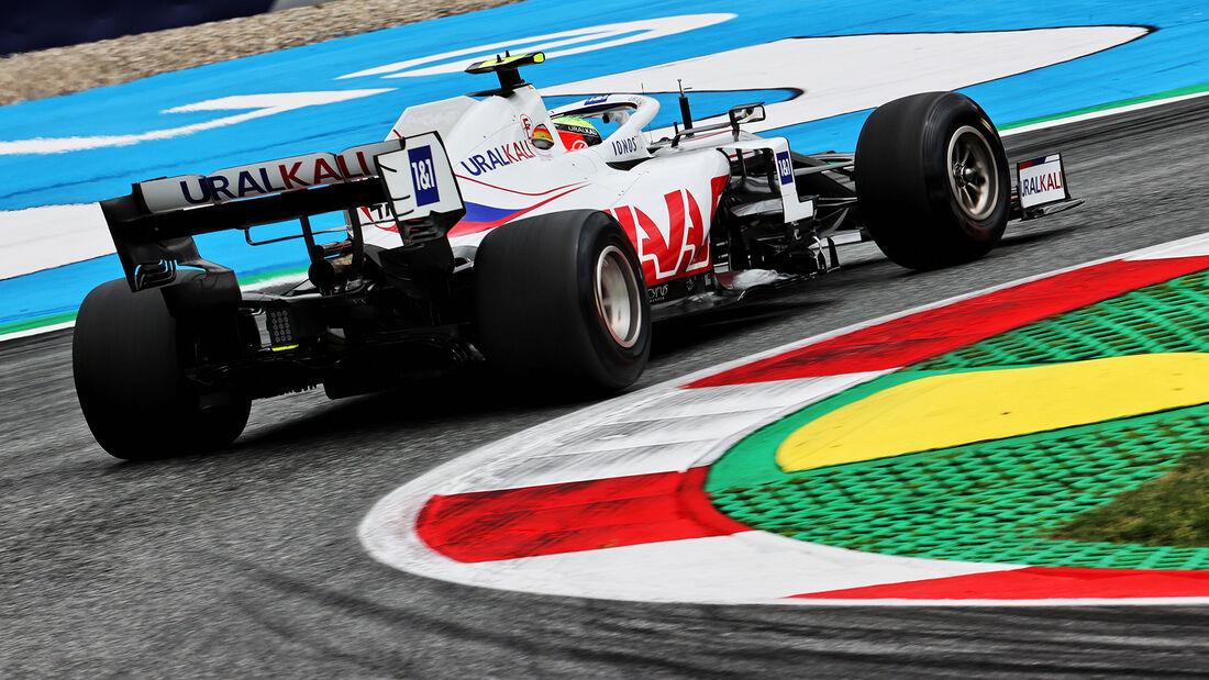 Mick Schumacher - Haas - Formel 1 - GP Österreich - Spielberg - Freitag - 2.7.2021