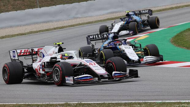 Mick Schumacher - Haas - Formel 1 - GP Spanien 2021 - Barcelona - Rennen