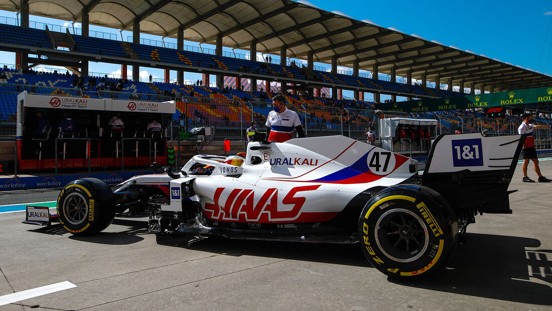 Mick Schumacher - Haas - Formel 1 - GP Türkei - Istanbul - 8. Oktober 2021
