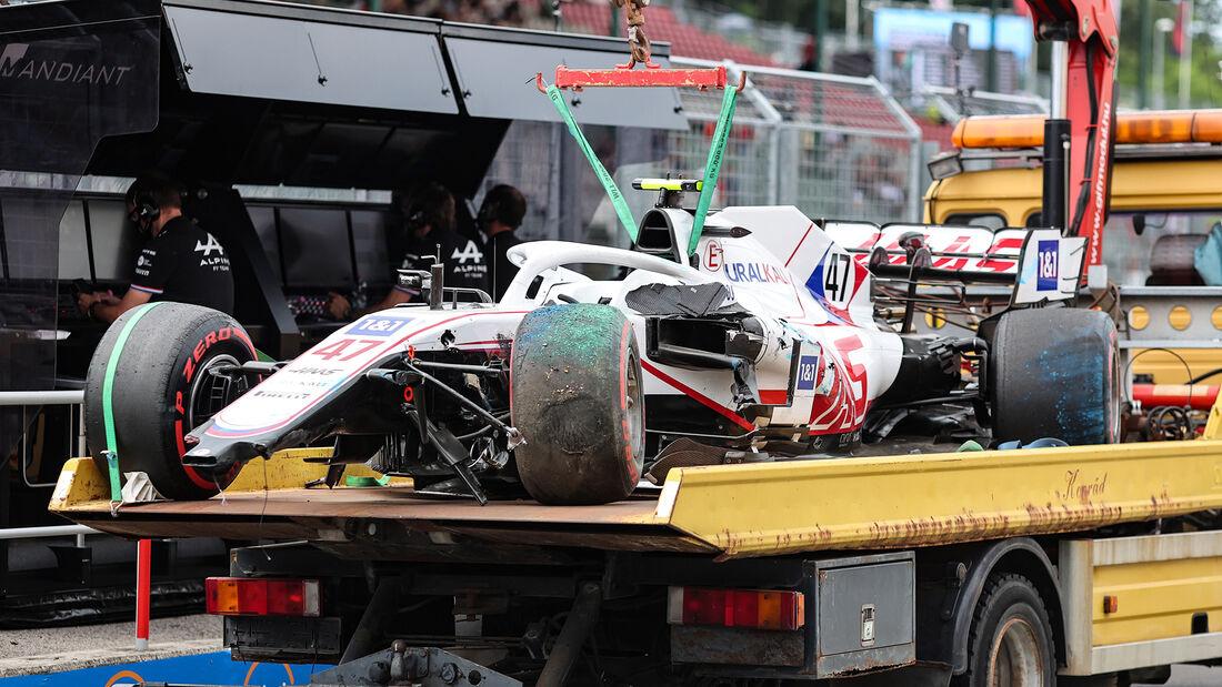 Mick Schumacher - Haas - Formel 1 - GP Ungarn - Budapest - Samstag - 31. Juli 2021