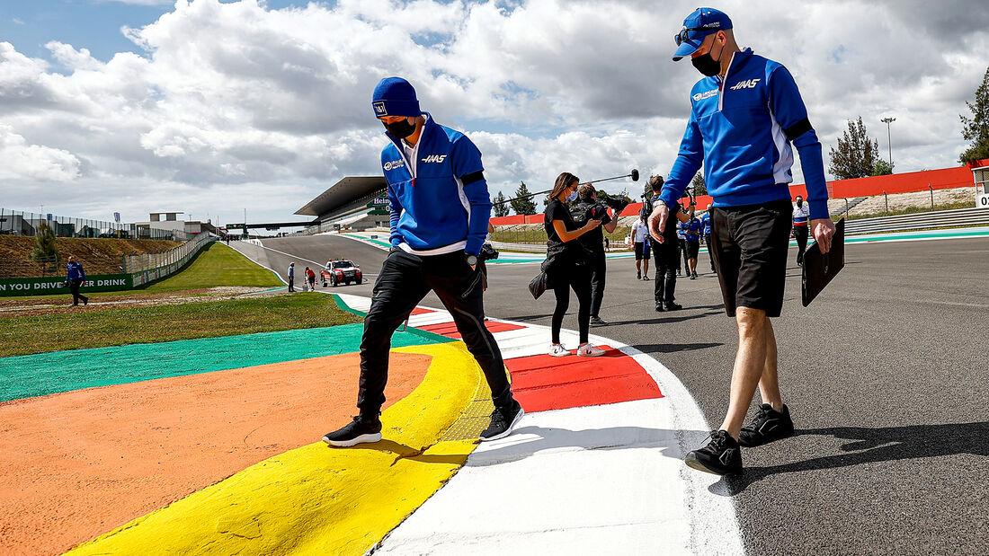 Mick Schumacher - Haas - Formel 1 - Portimao - GP Portugal - 29. April 2021