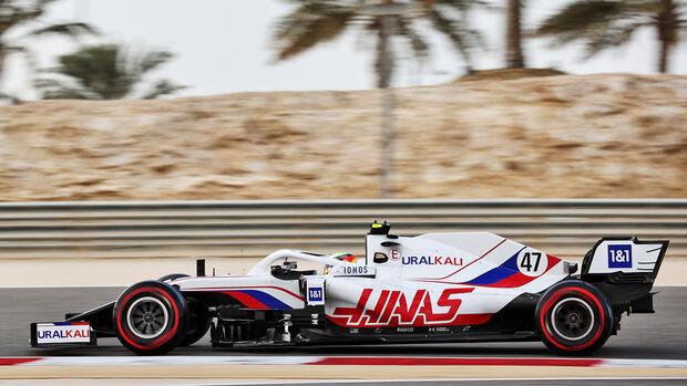 Mick Schumacher - Haas - Formel 1 - Test - Bahrain - 13. März 2021