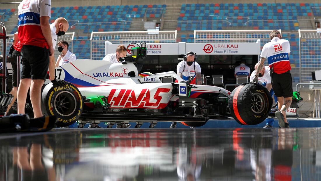 Mick Schumacher - Haas - Formel 1 - Test - Bahrain - 14. März 2021