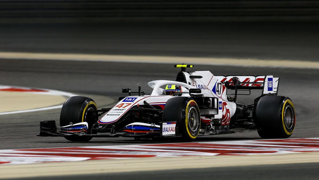 Mick Schumacher - Haas - GP Bahrain 2021 - Rennen