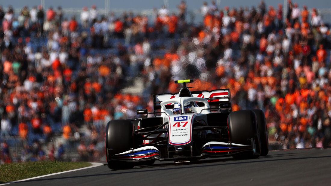 Mick Schumacher - Haas - GP Niederlande - Zandvoort - Formel 1 - 3. September 2021