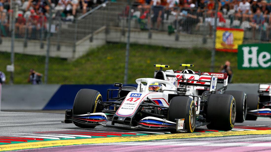 Mick Schumacher - Haas - GP Österreich 2021 - Spielberg - Rennen