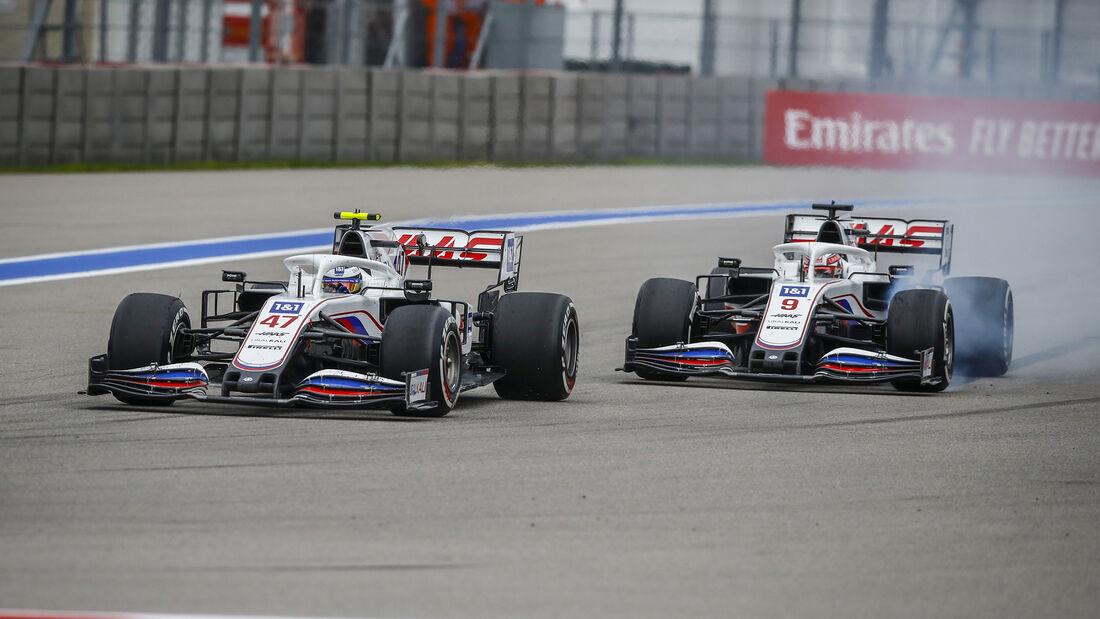 Mick Schumacher - Haas - GP Russland 2021 - Sotschi