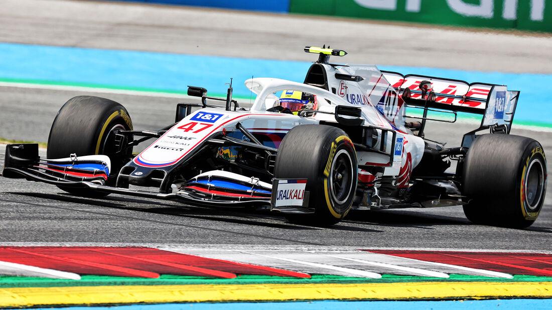 Mick Schumacher - Haas - GP Steiermark - Spielberg - Formel 1 - 25. Juni 2021
